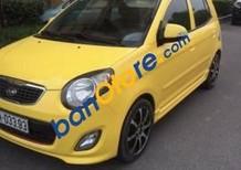 Bán xe Kia Morning đời 2010, màu vàng số tự động, giá tốt