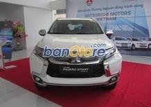 Cần bán xe Mitsubishi Pajero Sport 3.0L 4x2 4x4 AT đời 2017, màu trắng