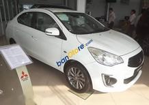 Cần bán xe Mitsubishi Attrage đời 2016, màu trắng số sàn