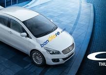 Cần bán xe Suzuki Ciaz năm sản xuất 2017, màu trắng, xe nhập, giá chỉ 580 triệu