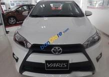 Bán ô tô Toyota Yaris 1.3 E năm sản xuất 2017, màu trắng, nhập khẩu Thái, giá chỉ 617 triệu