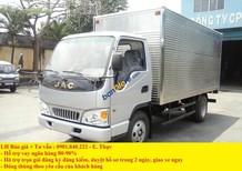 Giá xe tải Jac 1t25, 1t5, 1t95, 2t, 2t5, 3t, 3t5. Công ty chuyên mua bán xe tải Jac trả góp đóng thùng mui kín, mui bạt