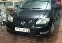 Cần bán lại xe Toyota Vios E đời 2007, màu đen