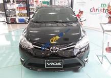 Cần bán Toyota Vios 1.5E MT sản xuất 2017, màu đen