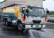 Xe phun nước rửa đường tưới cây 3 chân 12-13m3 tại Hà Nội 2016, 2017