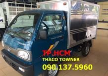 Bán Thaco TOWNER 750A (950A) mới, màu vàng, xe nhập, giá chỉ 165 triệu