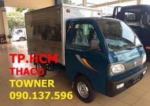 Bán Thaco TOWNER 750A (950A) sản xuất mới, màu xanh lục