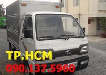 TP. HCM Towner 800 900kg mới, màu xanh lam thùng kín inox 304