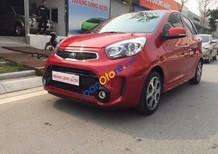Cần bán lại xe Kia Morning Si 1.25 AT sản xuất 2016, màu đỏ
