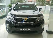 Bán Kia Sorento GAT đời 2018, màu đen, giá 789tr hỗ trợ 80%, Lh 0989.240.241