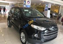 Bán xe Ford EcoSport Titanium năm 2016, màu đen, giá chỉ 595 triệu