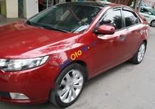 Bán xe Kia Cerato sản xuất 2011, màu đỏ, nhập khẩu, 480tr