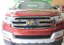 Cần bán Ford Everest 2.2L năm 2016, màu đỏ
