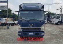 Xe faw 7.25t thùng 6m2 rộng 2m2, cabin mẫu isuzu mới nhất, giá cả tốt nhất trên thị trường