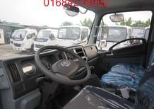 Bán xe FAW 6.95 đời mới, thùng xe rộng 5m1, rộng 2m05, Cabin mẫu Isuzu