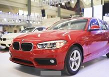 BMW 1 Series 118i 2017, màu đỏ, xe nhập. Bán xe BMW chính hãng tại Đà Nẵng