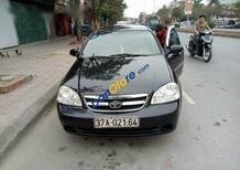 Cần bán lại xe Daewoo Lacetti sản xuất 2008, màu đen chính chủ