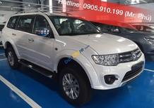Bán Mitsubishi Pajero Sport 1 cầu số sàn, tiết kiệm nhiên liệu 7L/100km, cho vay 80%