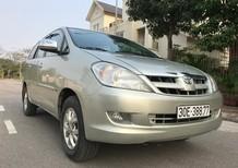 Cần bán xe Toyota Innova 2.0G đời 2007, màu bạc, nhập khẩu chính hãng, chính chủ, 408 triệu