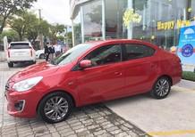 Bán xe Mitsubishi Attrage tại Huế, màu đỏ, nhập khẩu chính hãng giá cạnh tranh