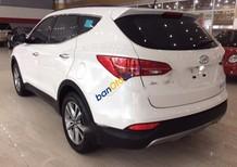 Cần bán lại xe Hyundai Santa Fe 2.4AT năm sản xuất 2015, màu trắng, xe nhập