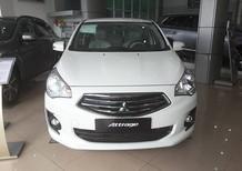 Bán xe Mitsubishi Attrage CVT 2018, màu trắng, nhập khẩu Thái