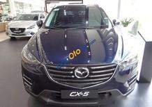 Cần bán Mazda CX 5 sản xuất năm 2017, màu xanh lam, giá chỉ 879 triệu