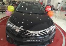 Bán Toyota Corolla altis 1.8CVT sản xuất 2018, màu đen