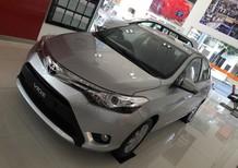 Cần bán xe Toyota Vios 1.5G AT 2016, màu bạc, 592 triệu