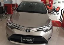 Cần bán xe Toyota Vios 1.5G At màu nâu vàng 2017 giá cạnh tranh