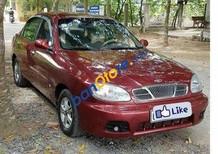 Bán xe cũ Daewoo Lanos MT sản xuất 2003, màu đỏ