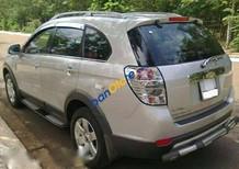 Bán xe Chevrolet Captiva LT đời 2009, màu bạc xe gia đình, 419tr