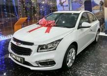 Bán ô tô Chevrolet Cruze 1.8 LTZ đời 2018, màu trắng