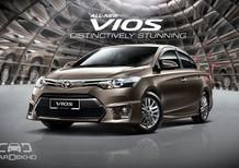 Bán Toyota Vios 2017, đủ màu, giao xe ngay, trả góp 90%, vay đến 7 năm. Gọi: 0973530250
