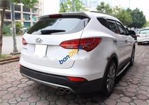 Cần bán Hyundai Santa Fe 2.4AT năm sản xuất 2015, màu trắng chính chủ