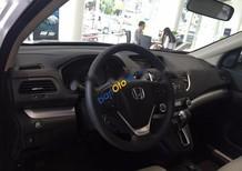 Bán Honda CR V 2.0AT đời 2017, màu trắng
