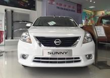 Cần bán Nissan Sunny XV 1.5AT 2017 màu trắng, chính hãng, giá rẻ nhất Hà Nội. Liên hệ ngay 0971527788