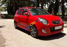 Bán ô tô Kia Morning sản xuất năm 2010, màu đỏ ít sử dụng
