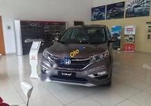 Cần bán xe Honda CR V 2.4AT sản xuất 2017, màu xám