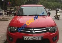 Cần bán Mitsubishi Triton 2015, màu đỏ số sàn, giá 440tr