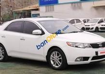 Bán Kia Forte GDI 1.6 AT đời 2010, màu trắng, nhập khẩu Hàn Quốc, giá bán 499 triệu