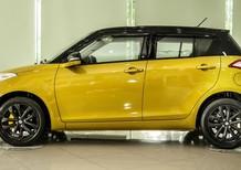 Bán ô tô Suzuki Swift sản xuất 2017, màu vàng, khuyến mãi 70 triệu khi nhận xe
