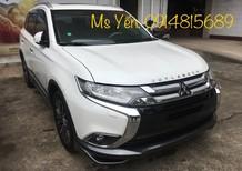Bán Mitsubishi Outlander 2.0 CVT 2018 tại Quảng Trị, xe màu trắng, nhập khẩu, hotline 0914815689