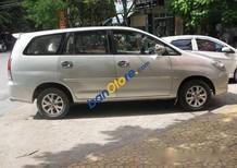 Cần bán gấp Toyota Innova sản xuất 2007, màu bạc số sàn, 430 triệu