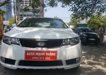 Cần bán lại xe Kia Cerato AT 2010, màu trắng, nhập khẩu chính hãng, 465tr