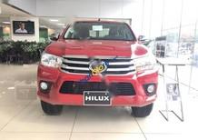 Bán Toyota Hilux 2.8G MT 4x4 năm 2017, màu đỏ, nhập khẩu chính hãng giá cạnh tranh