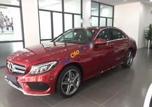 Cần bán xe Mercedes C300 AMG đời 2016, màu đỏ