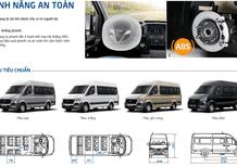 16 lý do bạn nên đầu tư xe Hyundai Solati 16 chỗ, mâm nhôm cao cấp