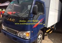 Xe tải JAC 2.4Tđộng cơ ISUZU Nhật Bản trả góp toàn quốc, khuyến mãi phí trước bạ 100%