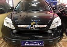 Bán Honda CR V 2.4AT sản xuất năm 2008, màu đen, giá 630tr